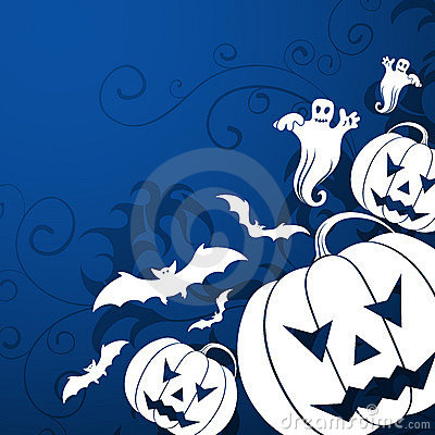 Free Halloween Background Royalty Free Stock Images - 2896269