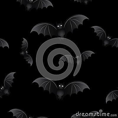 Halloween background Bats