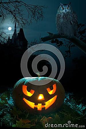 Halloween bania straszna