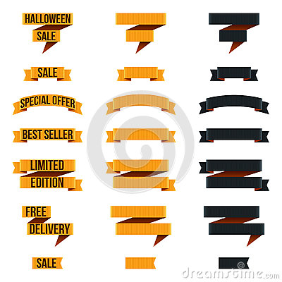 Free Halloween Banners Stock Images - 26293554