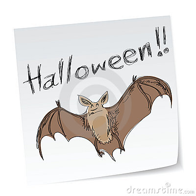 Free Halloween Bat Stock Image - 15936271