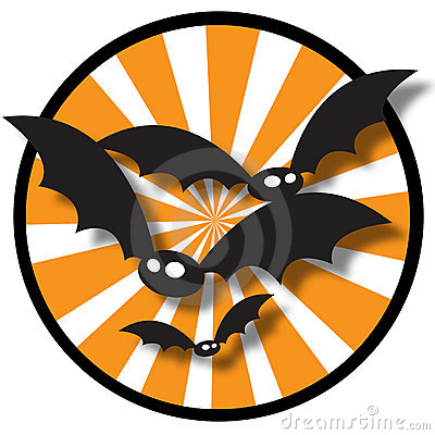 Halloween Bat Background
