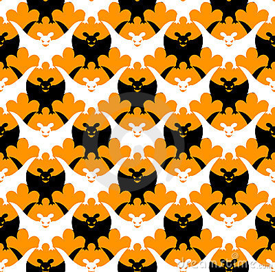 Halloween bat seamless.