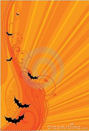 Halloween bats background