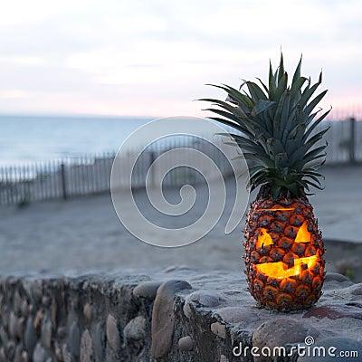 Halloween on beach