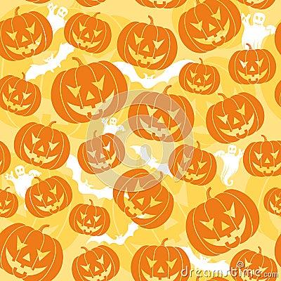 Halloween bezszwowy tło