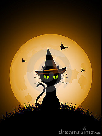 Free Clipart Halloween Cats
