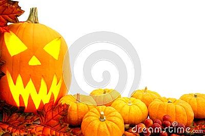 Halloween border Stock Photo