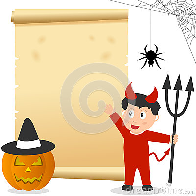 Halloween Boy Invitation Card