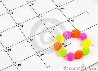 Halloween Calendar Candy