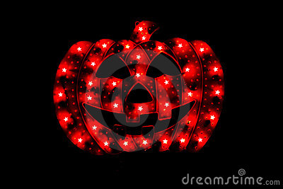 Halloween Camouflage Pumpkin with Lights