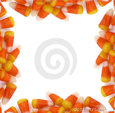 Halloween - Candy Corn Border