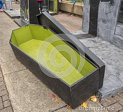 Halloween casket