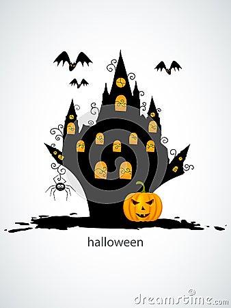 Halloween castel