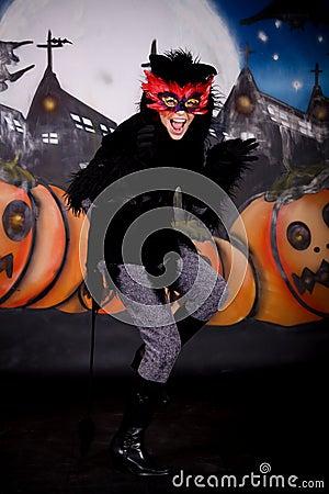 Halloween character cat