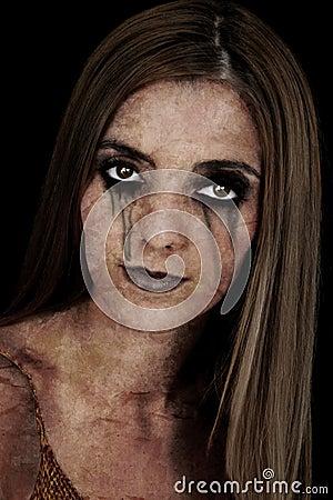 Halloween Character: Zombie Girl