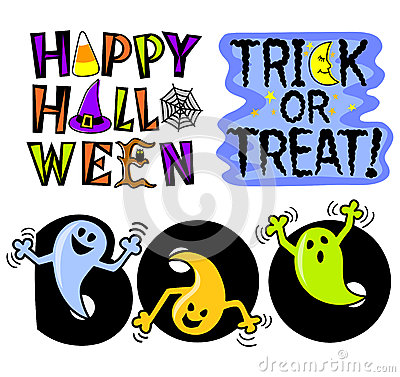 Halloween Clip Art Set/eps