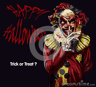 Free Halloween Clown Stock Images - 78432664