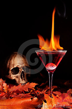 Free Halloween Cocktail Stock Photography - 21196272