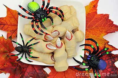 Halloween cookies witch s fingers