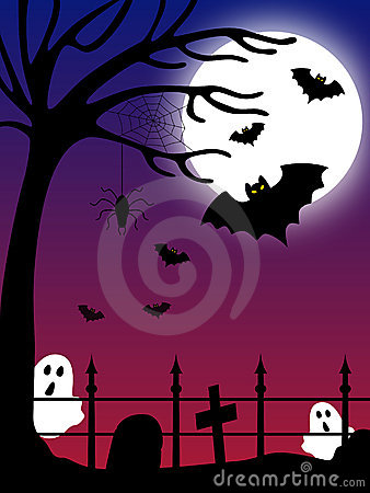 Halloween Country Scene [2]