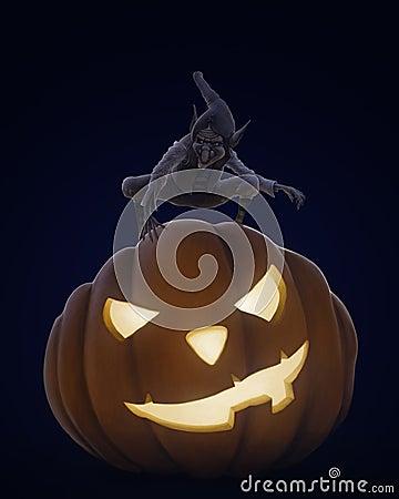 Halloween creepy night