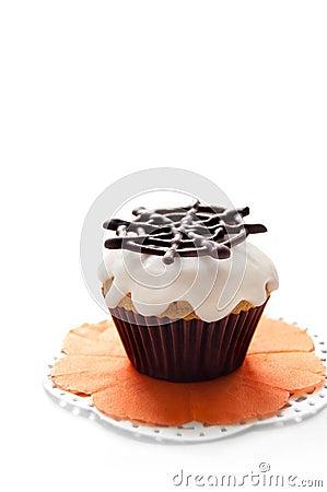 Free Halloween Cupcake Stock Photography - 33738262