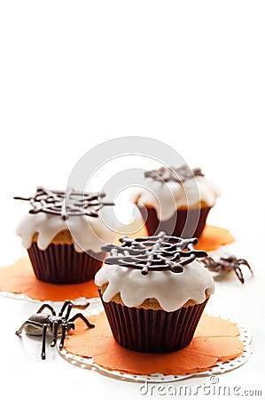 Free Halloween Cupcake Royalty Free Stock Photo - 33738275