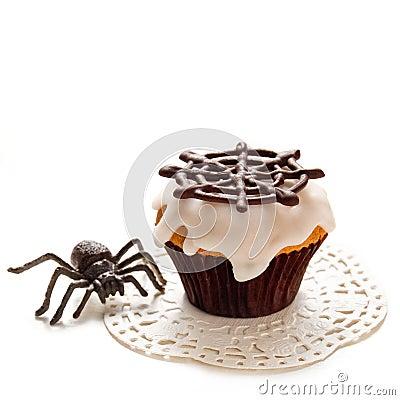 Free Halloween Cupcake Stock Images - 33738354
