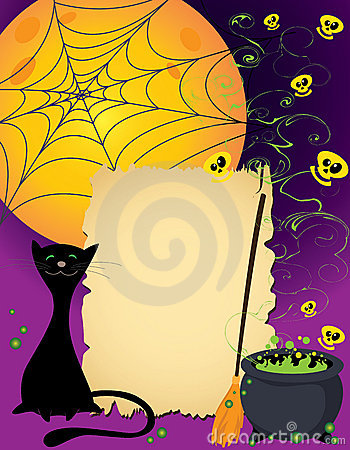 Halloween cute card