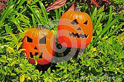 Halloween dźwigarki o lampiony