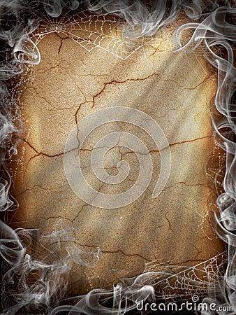 Free Halloween Dark Fire Smoke Royalty Free Stock Image - 20683326