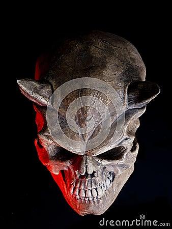 Halloween Devil skull