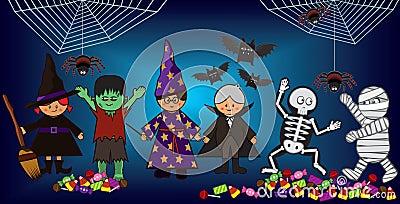 Halloween dzieciaki