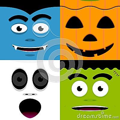 Free Halloween Faces Stock Photos - 21369253