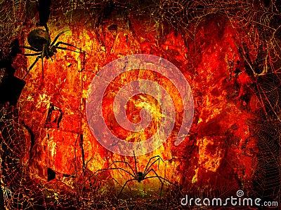 Halloween Fiery hall