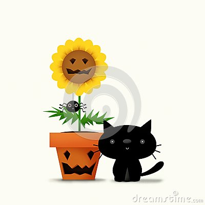 Halloween Flower