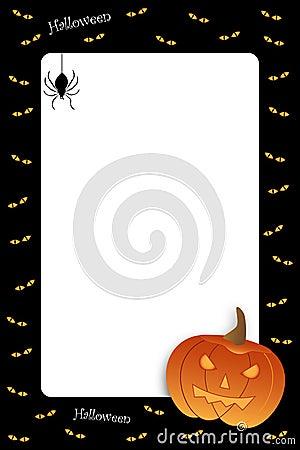 Free Halloween Frame Royalty Free Stock Photo - 15840965