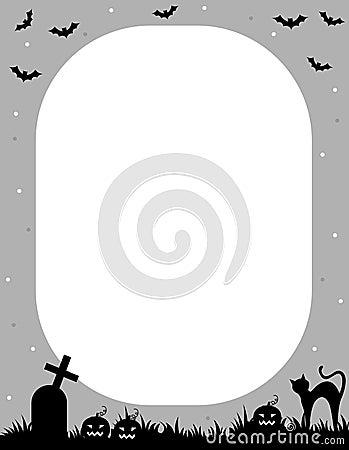 Free Halloween Frame Royalty Free Stock Image - 21245336