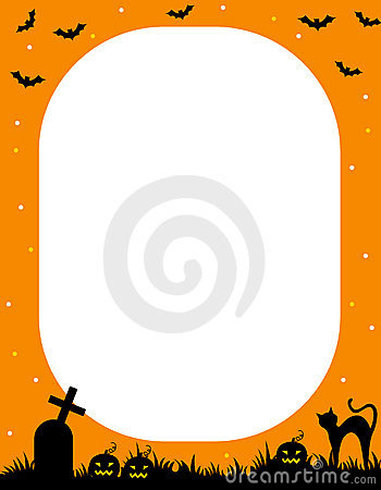 Free Halloween Frame Stock Images - 22691474