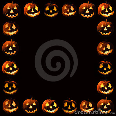Free Halloween Frame Royalty Free Stock Photography - 2678977