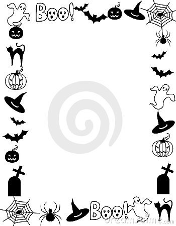 Royalty Free Stock Photography Halloween Frame Border Image21245307 on scary halloween music and sounds free