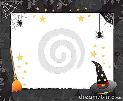 Halloween frame design