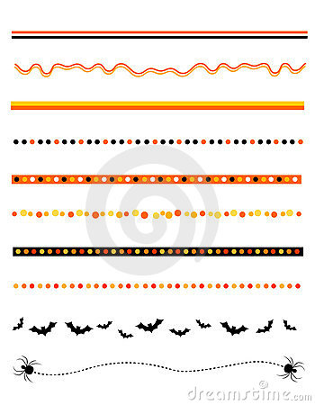 Free Halloween Frame / Divider Royalty Free Stock Image - 21245346
