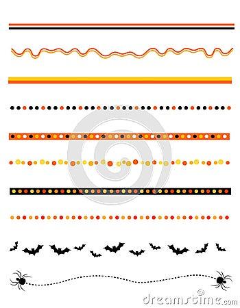 Halloween frame / divider