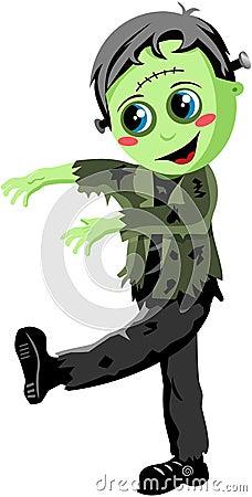 Halloween Frankenstein Monster