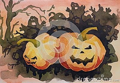 Halloween frightful congratulation card