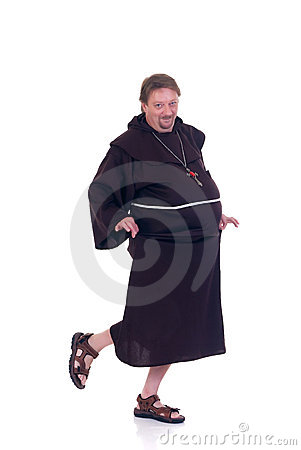 Free Halloween, Funny Monk Royalty Free Stock Images - 6594929