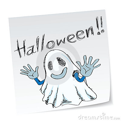 Free Halloween Ghost Stock Images - 15936294