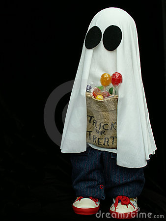 Free Halloween Ghost Royalty Free Stock Image - 271426